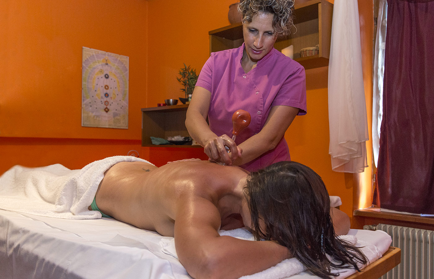 Body treatment at Hotel Alpino