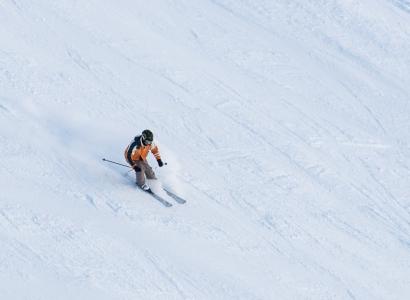 gennaio sugli sci